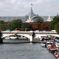 Vergezicht op het Grand Palais