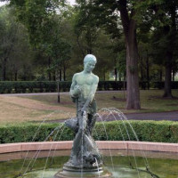 Fontein in Grant Park