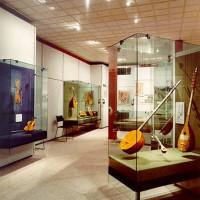 Collectie van het museum van Griekse Muziekinstrumenten