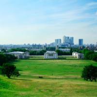 Zicht over Greenwich Park