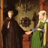 Schilderij in het Groeningemuseum