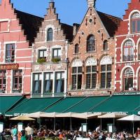 Terrasjes op de Grote Markt