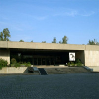 Zicht op het Museu Calouste Gulbenkian