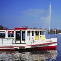 Boot op de Alstermeren