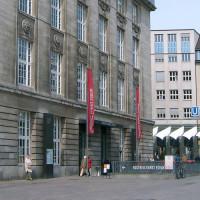 Zijaanzicht op het Bucerius Kunstforum
