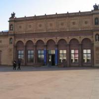 Ingang van de Hamburger Kunsthalle