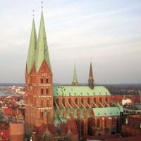 Totaalbeeld van de Sint Petrikathedraal