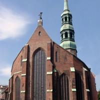 Gevel van de St. Katharinenkirche