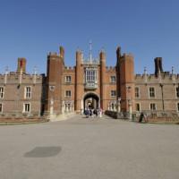 Muur van Hampton Court Palace