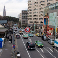 Verkeer in Harajuku