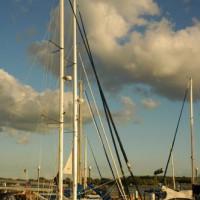 Zeilboot in Harbourfront