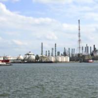 Opslagcontainers in de Antwerpse haven