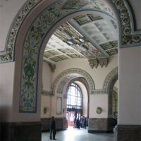 Binnen in het Haydarpasa-station