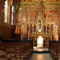 Binnen in de Heilig-Bloedbasiliek
