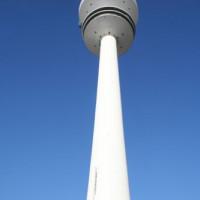 Beeld van de Heinrich-Hertz-Turm