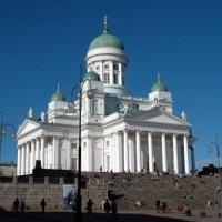 Totaalbeeld van de Kathedraal van Helsinki