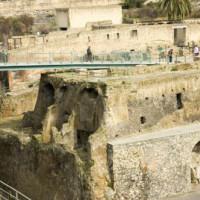 Ruïnes in Herculaneum