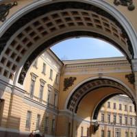 Rondbogen aan de Hermitage