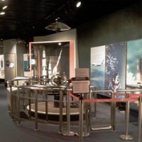Binnen in het Hong Kong Space Museum