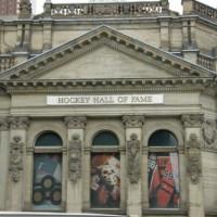 Gevel van de Hockey Hall of Fame
