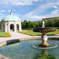 Fontein in de Hofgarten