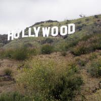 Zicht op de Hollywoodletters