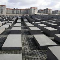 Betonblokken van het Holocaust Mahnmal