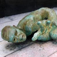 Beeld van het Holocaust Memorial
