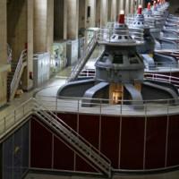 Turbines in de Hoover Dam