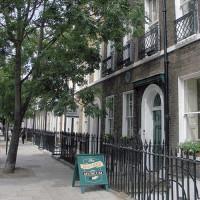 Bordje voor Dickens House