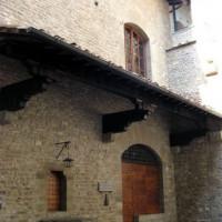 Deur van het huis van Dante