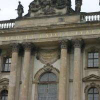 Voorkant van de Humboldt Universität
