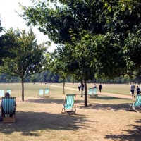 Wandelpad in Hyde Park