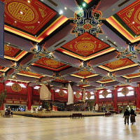 Interieur van de Ibn Battuta Mall