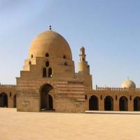 Beeld van de Ibn Tulun-moskee
