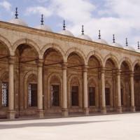 Zuilengalerij van de Ibn Tulun-moskee