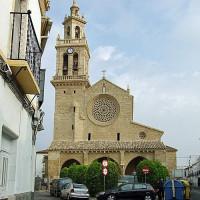 Zicht op de Iglesia de San Lorenzo