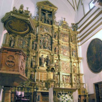 Altaarstuk van de Iglesia del Sagrario