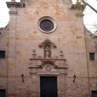 Ingang van de Iglesia de Sant Felip Neri