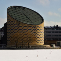 Totaalbeeld van het Tycho Brahe–planetarium
