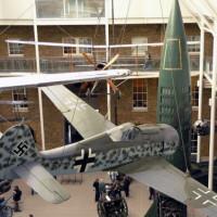 Binnen in het Imperial War Museum