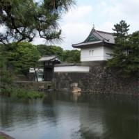 Water aan het Meiji Jingu