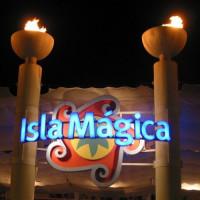 Naambord van het Isla Mágica