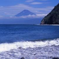 Vergezicht op de berg Fuji