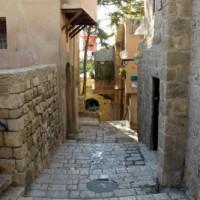 Steegje in Jaffa