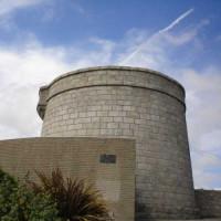 Beeld van James Joyce Tower