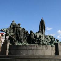 Standbeeld in Praag