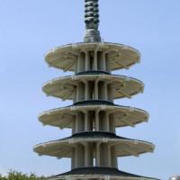 Beeld van de Peace Pagoda