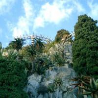 Rotsen in de Jardin Exotique