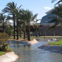 Water in de Jardines del Turia